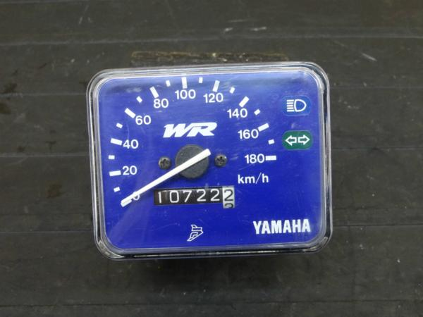 【160831】WR400F(CH02W)◇スピードメーター 10722km 難有   中古バイクパーツ通販・買取 ジャンクヤード鳥取 JunkYard