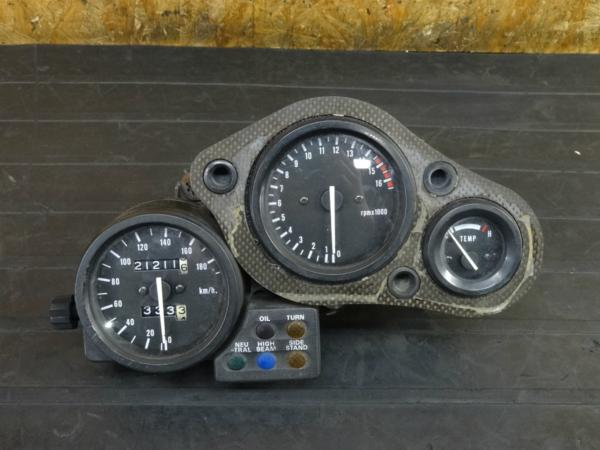 【170202】RVF400(NC35-1002)◇純正メーター スピード タコ 水温計 | 中古バイクパーツ通販・買取 ジャンクヤード鳥取 JunkYard