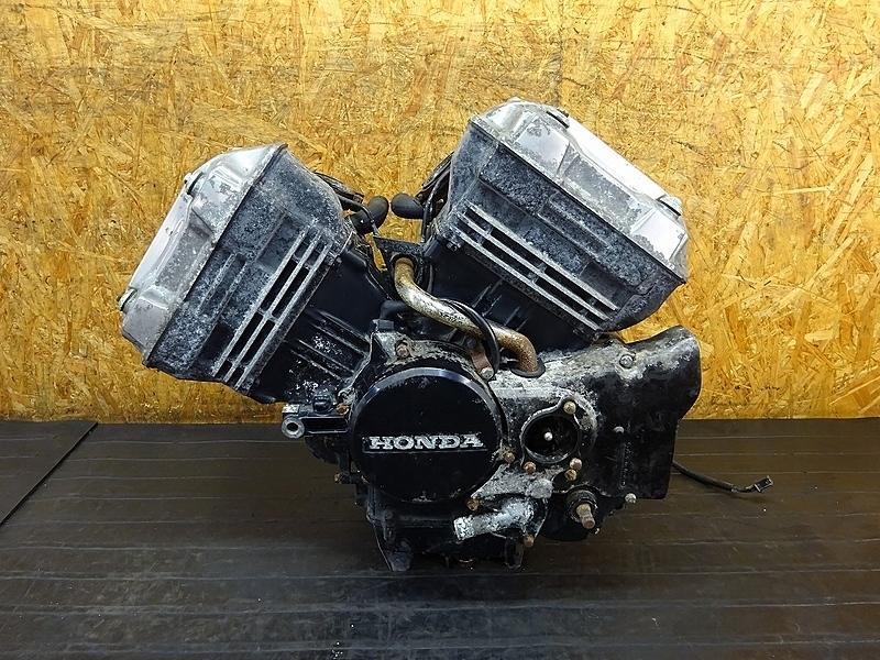 【180808.H】VT250F(MC08-1138)● エンジン ミッション クランク 始動OK! ベースに!? 油圧クラッチ 【VT250FEインテグラ | 中古バイクパーツ通販・買取 ジャンクヤード鳥取 JunkYard