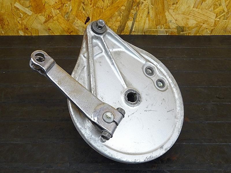 【191111.H】GL400カスタム(GL400-1015)★ リアドラムパネル ドラムブレーキ 【検:GL500 ウイング CX500 | 中古バイクパーツ通販・買取 ジャンクヤード鳥取 JunkYard