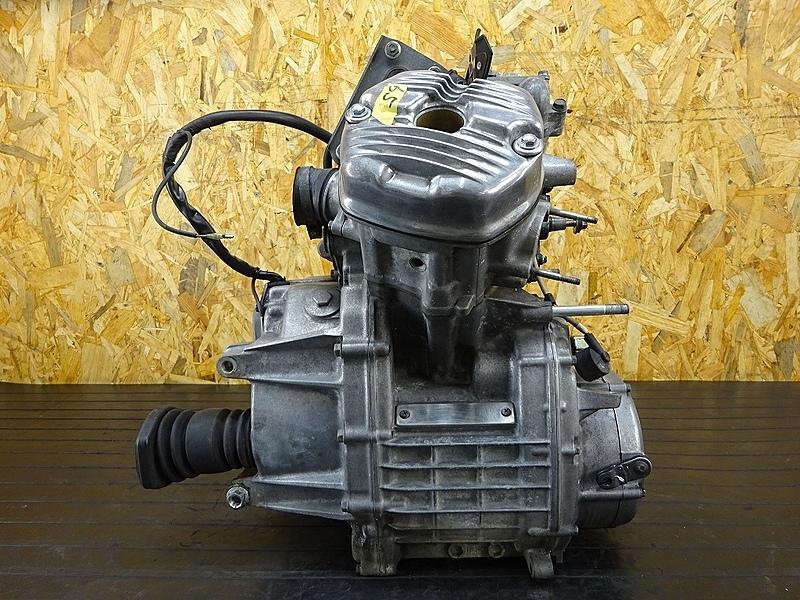 【191111.H】GL400カスタム(GL400-1015)★ 中古エンジン 圧縮OK!? クランキングOK!? ジャンク!? 部品取りに!? 【検:GL500 ウイング CX500 | 中古バイクパーツ通販・買取 ジャンクヤード鳥取 JunkYard