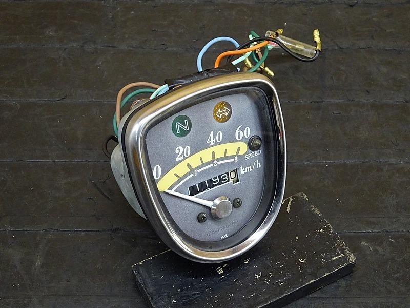 【200128】リトルカブ50(AA01-3060)■ スピードメーター インジケーターランプ メーター 11193㎞ | 中古バイクパーツ通販・買取 ジャンクヤード鳥取 JunkYard