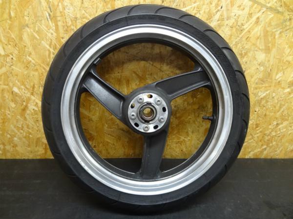 【150114】ZZR1100(ZXT10D)◎フロントホイール 17×3.50 | 中古バイクパーツ通販・買取 ジャンクヤード鳥取 JunkYard