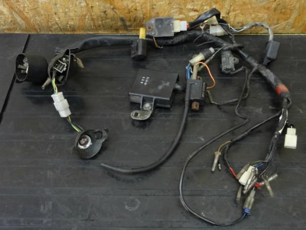 【150110】DT50(17W)◇メインハーネス CDI IGコイル 6V 難有   中古バイクパーツ通販・買取 ジャンクヤード鳥取 JunkYard