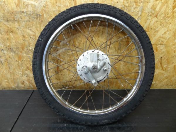 【150110】DT50(17W)◇フロントホイール アクスルシャフト 難有   中古バイクパーツ通販・買取 ジャンクヤード鳥取 JunkYard