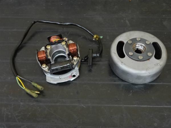 【150115】KDX125(DX125A)◆ジェネレーター 【エンジンパーツ | 中古バイクパーツ通販・買取 ジャンクヤード鳥取 JunkYard