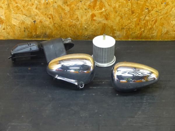 【151225】ビラーゴ400(2NT)◎エアクリカバー ステー 左右セット | 中古バイクパーツ通販・買取 ジャンクヤード鳥取 JunkYard