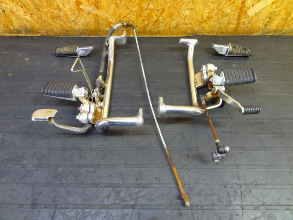 【151225】ビラーゴ400(2NT)◎ステップ 左右 メイン タンデム | 中古バイクパーツ通販・買取 ジャンクヤード鳥取 JunkYard