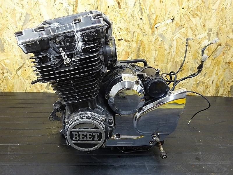 【190321.Y】XJ400D(4G0-054)● エンジン クラッチ ミッション メッキパーツ BEETカバー 始動OK! 【旧車 当時物 XJ400 | 中古バイクパーツ通販・買取 ジャンクヤード鳥取 JunkYard