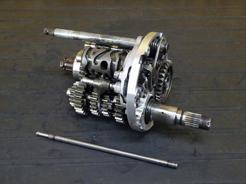 【200602】NSR250R エンジンパーツ■ ミッションASSY ミッションギア 【MC16 MC18 MC21 MC28 SE SP 乾式クラッチ   中古バイクパーツ通販・買取 ジャンクヤード鳥取 JunkYard