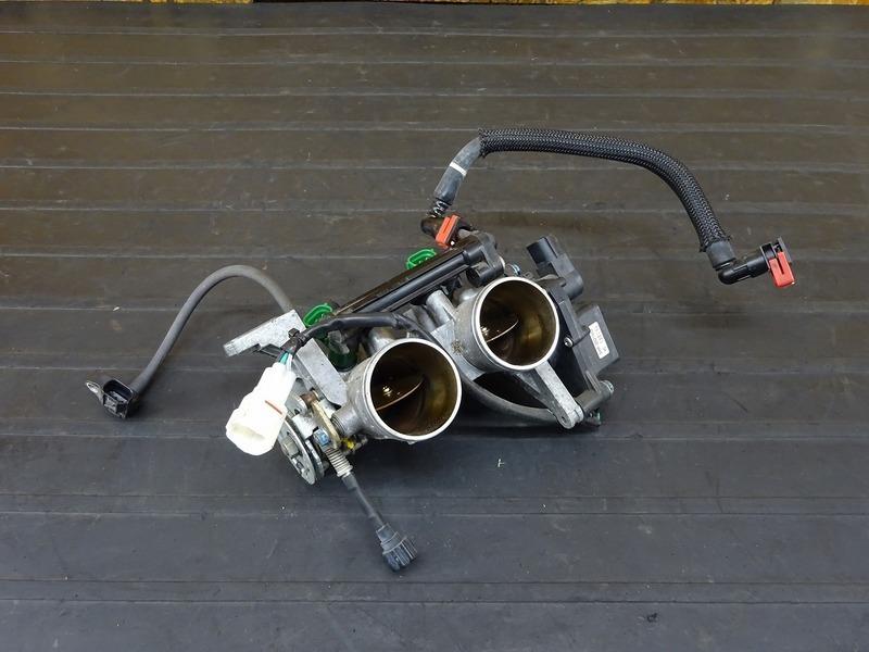 【201204】Ninja250(EX250L-001)■ スロットルボディ インジェクター 【NINJA ニンジャ | 中古バイクパーツ通販・買取 ジャンクヤード鳥取 JunkYard