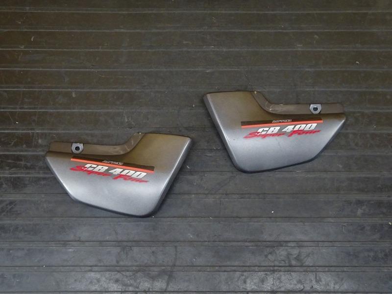 【210406】CB400SF Vtec1(NC39-1020)■ サイドカバー左右セット サイドカウル ジャンク!? 【SPEC1 スペック1 | 中古バイクパーツ通販・買取 ジャンクヤード鳥取 JunkYard