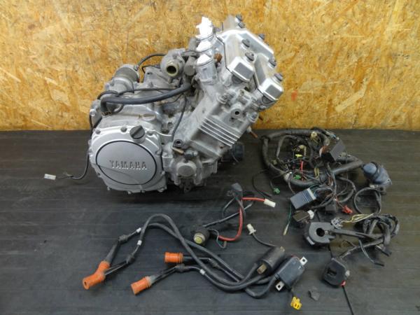 【160616】FZ750(1AE)◇FZR1000エンジン 載せ換え【4PM 3GM | 中古バイクパーツ通販・買取 ジャンクヤード鳥取 JunkYard