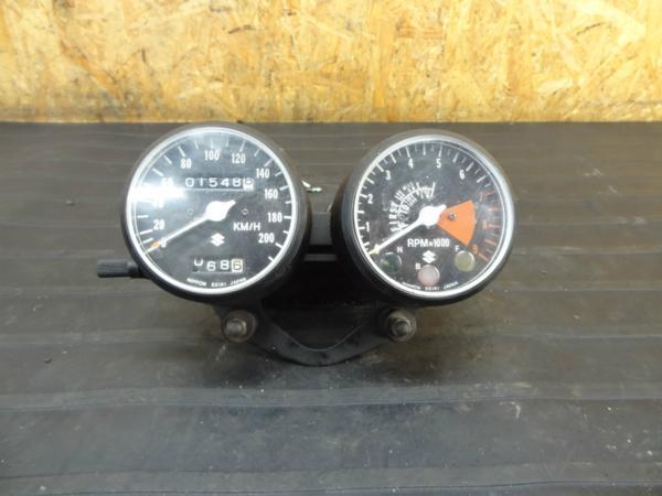【160724】スズキ T500◆メーター スピード 1,549km 【タイタン? | 中古バイクパーツ通販・買取 ジャンクヤード鳥取 JunkYard