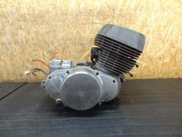 【160724】スズキ T500◆エンジン 初爆確認 1,549km【タイタン? | 中古バイクパーツ通販・買取 ジャンクヤード鳥取 JunkYard
