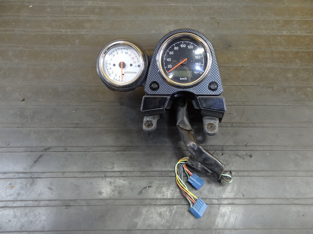 【180226.S】SV650(VP52A-100)●メーターユニット スピードメーター インジケーター タコメーター ジャンク 【SV400 SV650S | 中古バイクパーツ通販・買取 ジャンクヤード鳥取 JunkYard