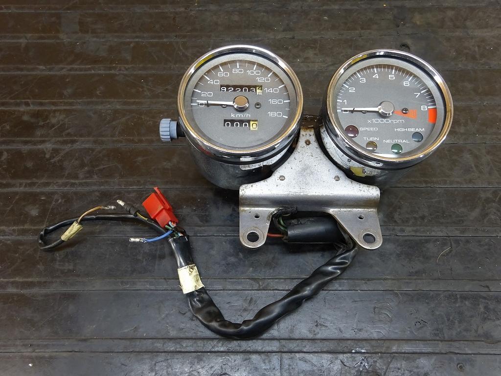 【180528.H】GB400TT(MC20-1010)●スピードメーター タコメーター インジケーター | 中古バイクパーツ通販・買取 ジャンクヤード鳥取 JunkYard