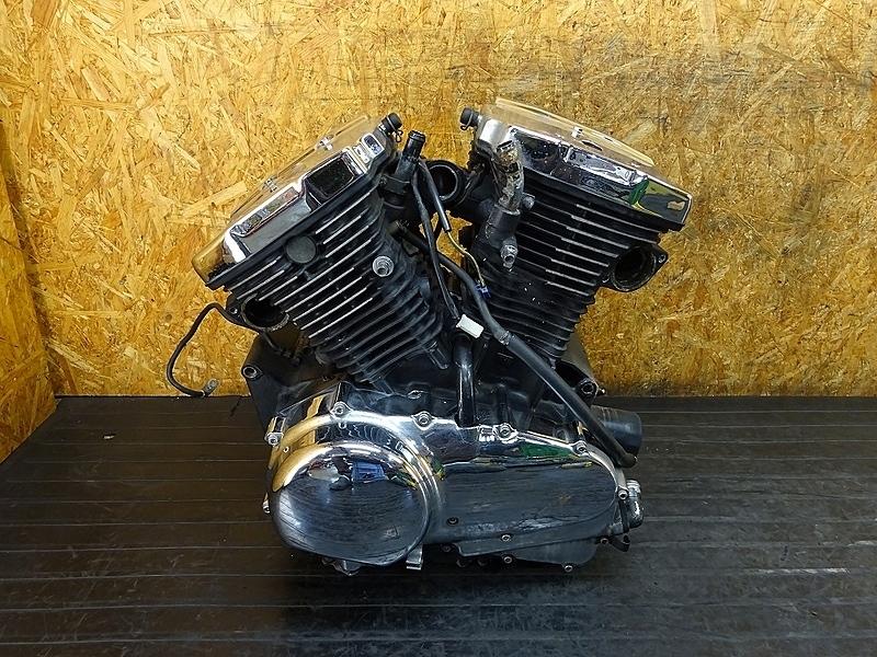 【180803.K】バルカン400クラシック(VN400A-018)● エンジン ミッション クランク 始動OK! ベースに!? | 中古バイクパーツ通販・買取 ジャンクヤード鳥取 JunkYard
