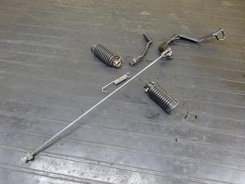 【190313.H】XL230(MC36-1001)● ステップセット ブレーキペダル シフトペダル | 中古バイクパーツ通販・買取 ジャンクヤード鳥取 JunkYard