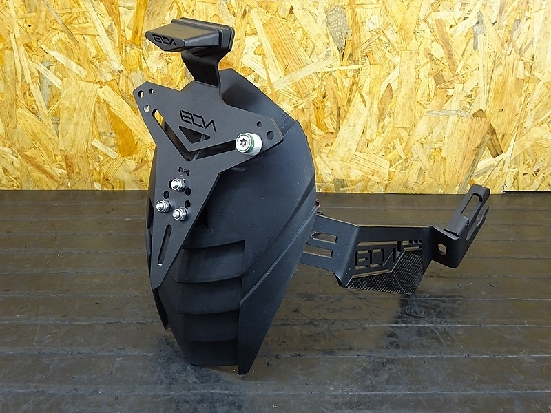 【191015.K】Ninja250(EX250P-A03)★ スプラッシュガード マッドガード LEON ※検:Ninja300 Z250 Z300 【NINJA ニンジャ | 中古バイクパーツ通販・買取 ジャンクヤード鳥取 JunkYard