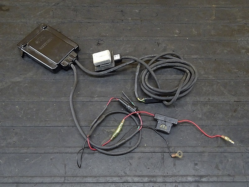 【200224】XJR1300(RP01J-002)■ ミツバ バイク用ETC MSC-BE31 アンテナ・インジケーター一体タイプ アンテナ分離型 MITSUBA | 中古バイクパーツ通販・買取 ジャンクヤード鳥取 JunkYard