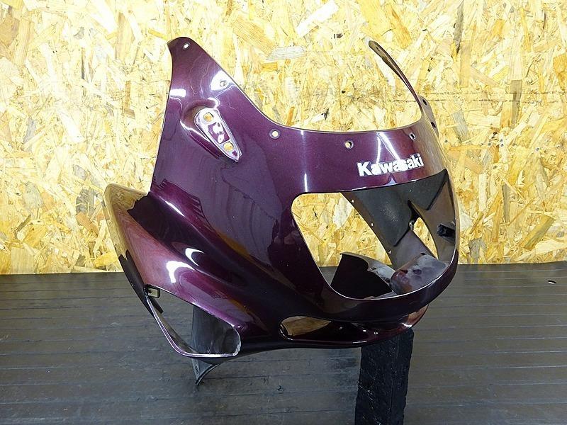 【200313】ZZR400(ZX400N-020)■ 純正アッパーカウル 【ZZ-R400 N5型 | 中古バイクパーツ通販・買取 ジャンクヤード鳥取 JunkYard