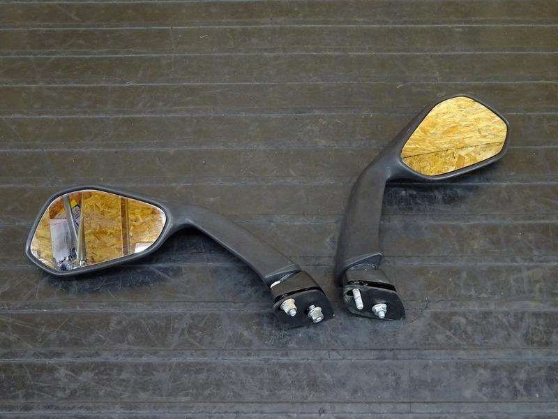 【210401】アプリリア RS4 125 '12◇ ミラー左右セット 【aprilia   中古バイクパーツ通販・買取 ジャンクヤード鳥取 JunkYard