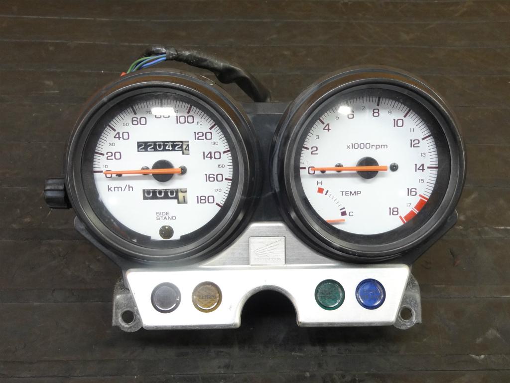 【170904】ホーネット250(MC31-1252)◇スピードメーター タコメーター インジケーター   中古バイクパーツ通販・買取 ジャンクヤード鳥取 JunkYard