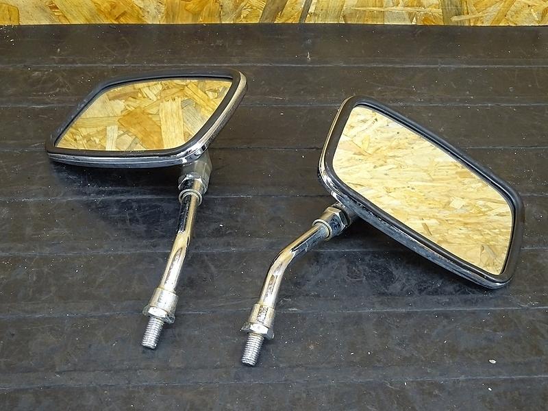 【191111.H】GL400カスタム(GL400-1015)★ ミラー 左右セット 【検:GL500 ウイング CX500 | 中古バイクパーツ通販・買取 ジャンクヤード鳥取 JunkYard