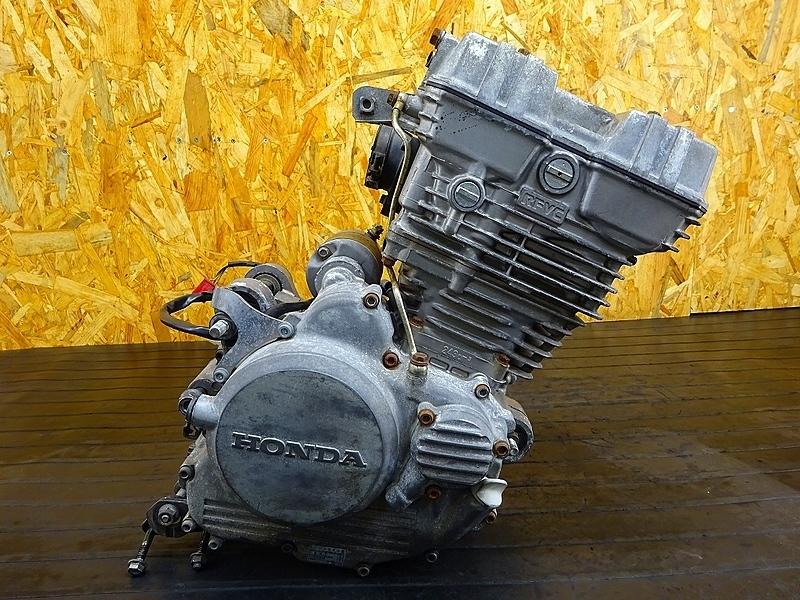 【191201】GB250クラブマン(MC10-170)■ 中古エンジン 始動確認後取り外し!! ジェネレーター セルモーター 18888㎞ | 中古バイクパーツ通販・買取 ジャンクヤード鳥取 JunkYard