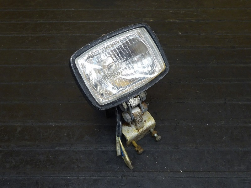 【210604】FTR223(MC34-1111)◇ ヘッドライト ヘッドライトケース ヘッドライトレンズ ビンテージ チョッパー   中古バイクパーツ通販・買取 ジャンクヤード鳥取 JunkYard