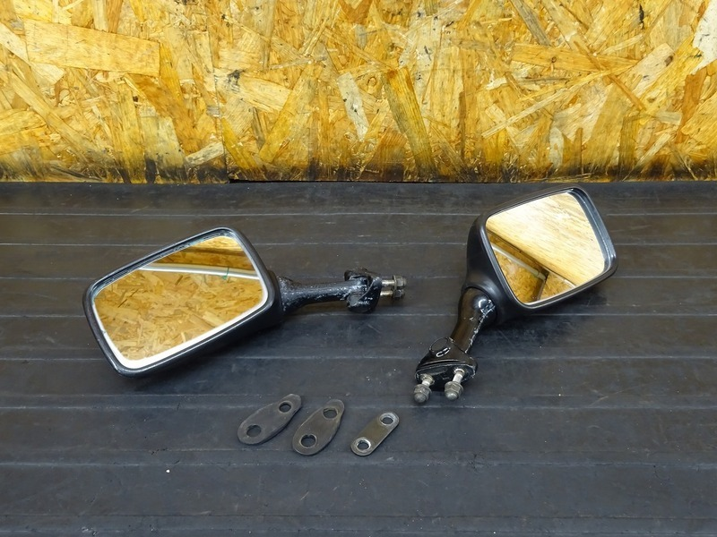 【210621】ZXR400(ZX400L-306)■ ミラー左右セット 【ZXR400R   中古バイクパーツ通販・買取 ジャンクヤード鳥取 JunkYard