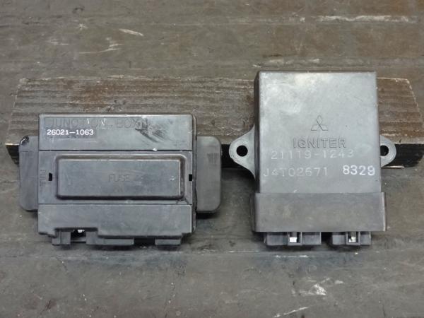 【160414】ZX-10(ZXT00B)◎CDI イグナイター ジャンクションBOX | 中古バイクパーツ通販・買取 ジャンクヤード鳥取 JunkYard