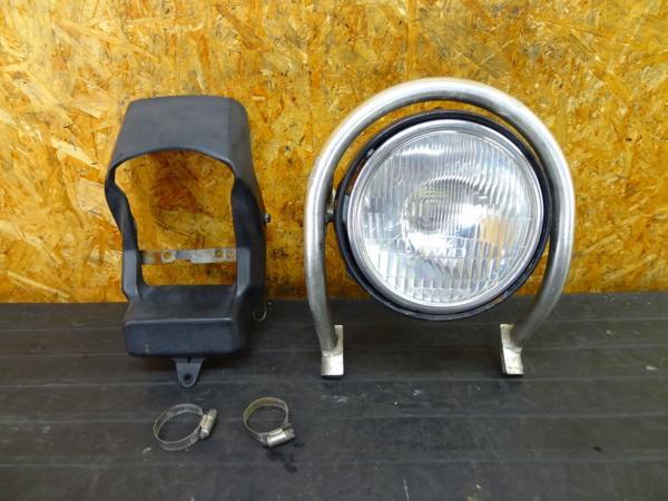 【160523】ジェベル200(SH42A)◎ヘッドライト ガード ステーSET | 中古バイクパーツ通販・買取 ジャンクヤード鳥取 JunkYard