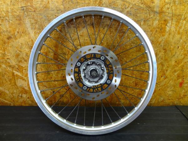 【160523】ジェベル200(SH42A)◎フロントホイール 21×1.60 | 中古バイクパーツ通販・買取 ジャンクヤード鳥取 JunkYard