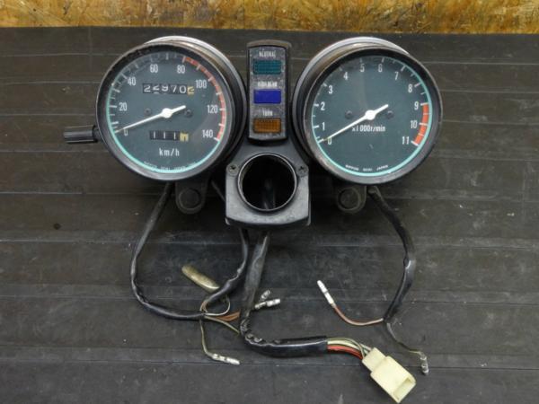 【161216】Z250LTD(KZ250G)◇スピードメーター タコメーター難有 | 中古バイクパーツ通販・買取 ジャンクヤード鳥取 JunkYard