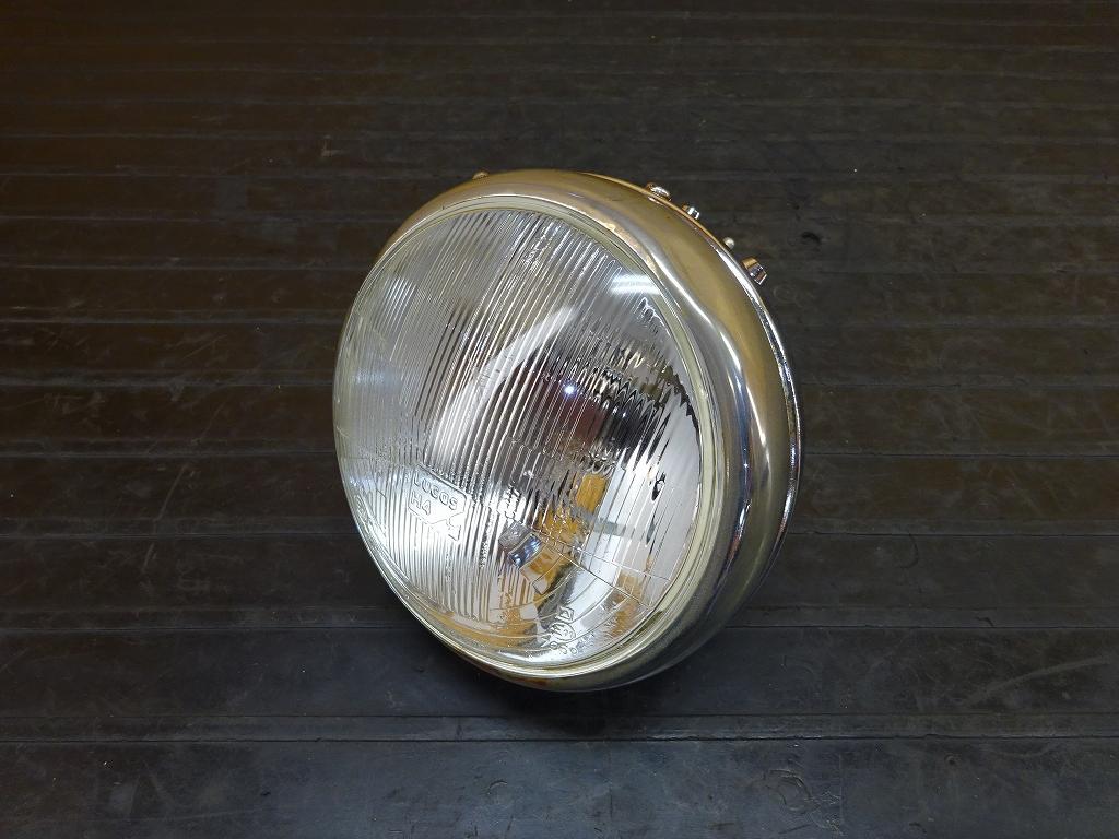【180522.Y】SR400●社外ヘッドライト レンズ ケース LUCAS ルーカス カフェレーサー ボバー 【SR500 2H6 1JR 2J2 1JN | 中古バイクパーツ通販・買取 ジャンクヤード鳥取 JunkYard