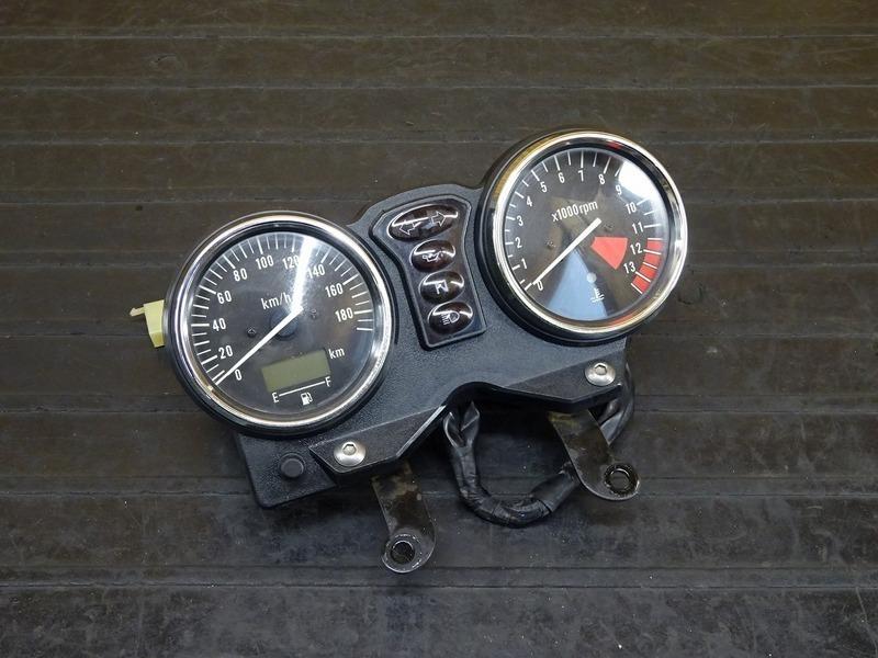 【210412】CB400FOUR(NC36-1004)◇ スピードメーター タコメーター インジケーターランプ 33097㎞ 【CB400F 平成フォア   中古バイクパーツ通販・買取 ジャンクヤード鳥取 JunkYard
