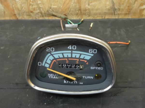 【140628】ベンリィCD50◇純正スピードメーター 60km 12V | 中古バイクパーツ通販・買取 ジャンクヤード鳥取 JunkYard