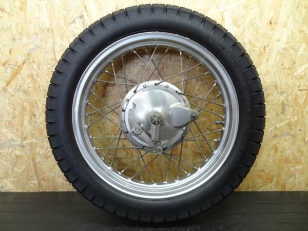 《140528》SR500(2J2)◇リアワイドホイール??18×2.50 アクスル | 中古バイクパーツ通販・買取 ジャンクヤード鳥取 JunkYard