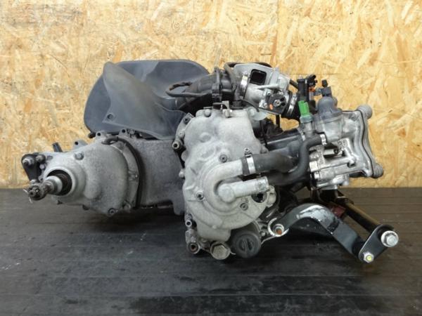【141219】ピアジオMP3◆エンジン 始動確認済 セルモーター付 | 中古バイクパーツ通販・買取 ジャンクヤード鳥取 JunkYard