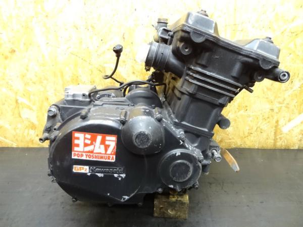 【150119】GPZ750R(ZX750G)◎エンジン 初爆確認済み | 中古バイクパーツ通販・買取 ジャンクヤード鳥取 JunkYard
