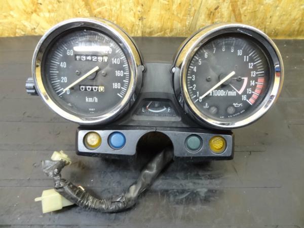 【150218】ZRX-Ⅱ(ZR400E)◎メーターユニット 難有【ZRX400   中古バイクパーツ通販・買取 ジャンクヤード鳥取 JunkYard
