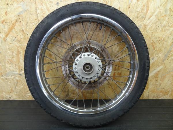 【140610】ボルティ250(NJ47A)◎フロントホイール 18×1.85 | 中古バイクパーツ通販・買取 ジャンクヤード鳥取 JunkYard