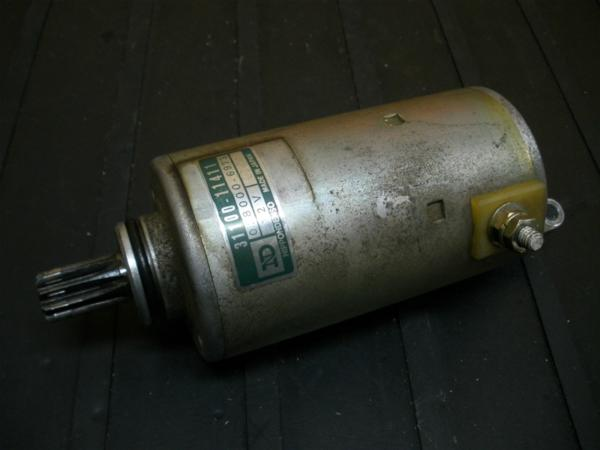 【140830】GS250FW(GJ71A)◎セルモーター スターターモーター | 中古バイクパーツ通販・買取 ジャンクヤード鳥取 JunkYard