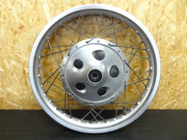 【141021】SR400(1JR)◎フロントホイール 18×1.85 ドラム   中古バイクパーツ通販・買取 ジャンクヤード鳥取 JunkYard