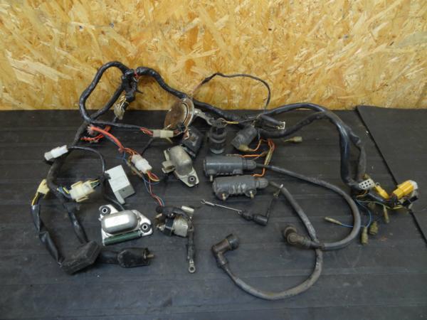 【141104】XS650SP(447)◇メインハーネス IGコイル 電装系 難有 | 中古バイクパーツ通販・買取 ジャンクヤード鳥取 JunkYard