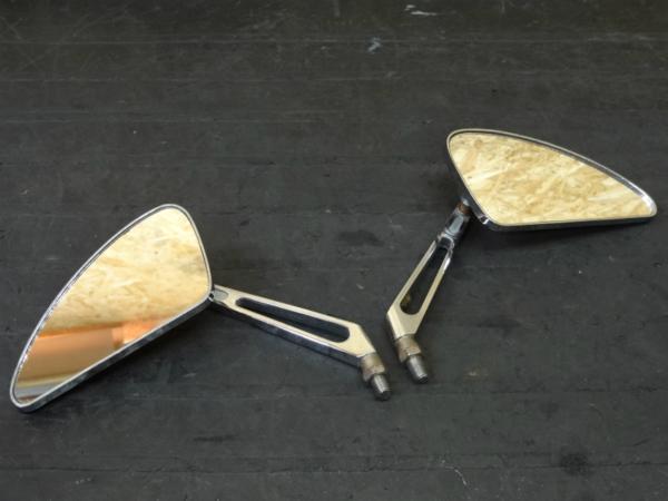 [141215]社外汎用◇ミラー 左右 サイドミラー 10mm 正ネジ | 中古バイクパーツ通販・買取 ジャンクヤード鳥取 JunkYard