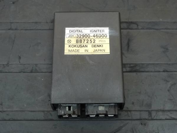 【150403】GSX400Sカタナ(GK77A)◎CDI イグナイター | 中古バイクパーツ通販・買取 ジャンクヤード鳥取 JunkYard