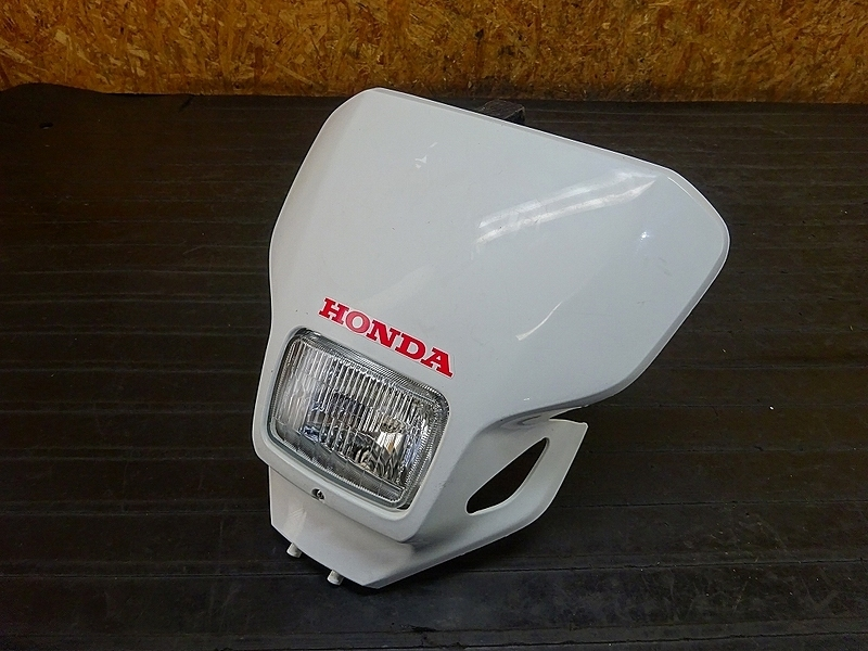 【190204.H】CRM250AR(MD32-1101)● ヘッドライト ライトカウル フロントカウル | 中古バイクパーツ通販・買取 ジャンクヤード鳥取 JunkYard